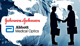 Johnson & Johnson, Abbott Medical Optics Firmasını Satın Aldığına Dair Sözleşme Yaptığını Duyurdu