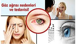 Göz ağrısı nedenleri ve tedavisi!
