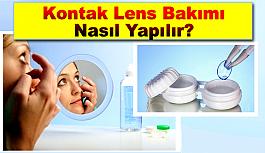 Kontak Lens Hijyeni Temizliği ve Bakımı