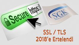 SGK İnternet Bağlantı Metodu Değişikliğini Erteledi
