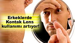 Erkeklerde Kontak Lens kullanımı