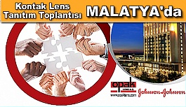 Kontak Lens Tanıtım Toplantısı MALATYA