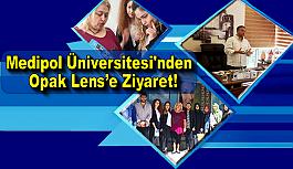 Medipol Üniversitesi Optisyenlik Bölümü Öğrencilerinden Opak Lens'e Ziyaret!