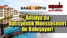 Baha Optik ve Opak Lens Antalya'da...
