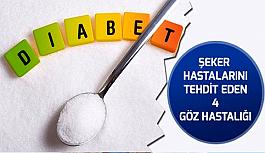 Şeker Hastalarını Tehdit Eden 4 Göz Hastalığı!