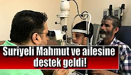 Suriyeli Mahmut ve ailesine destek geldi!