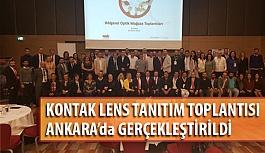 Kontak Lens Tanıtım Toplantılarının 10.su Ankara'da Yapıldı