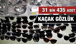Antalya'da 31 bin 435 Adet Kaçak Güneş Gözlüğü