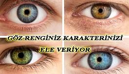 Göz Renginiz Karakterinizi Belirliyor
