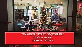 """""""En Güzel Vitrini Seçiyoruz"""" Yarışması: Doğan Optik-Bursa/Gemlik"""
