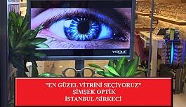 """""""En Güzel Vitrini Seçiyoruz"""" Yarışması: Şimşek Optik-İstanbul / Sirkeci"""