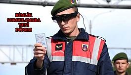 Jandarmanın Yeni 'Takbul' Gözlükleri GBT Kontrolü Yapıyor