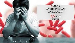 Son 5 Yılda Antidepresan Kullanımı 2,5 Kat Arttı