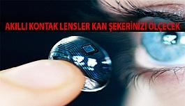 Akıllı Kontak Lensler Kan Şekerinizi Ölçecek