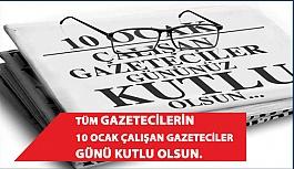 Gazete Çalışanlarının '10 Ocak Çalışan Gazeteciler Günü' Kutlu Olsun