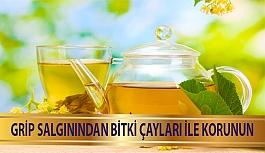 Grip Salgınından Bitki Çayları İle Korunun