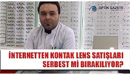 İnternetten Kontak Lens Satışları...