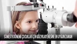 Sömestr Dönemi Çocuklar İçin Göz Doktoruna Gitmenin Tam Zamanı