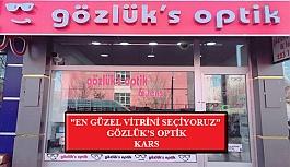 """""""En Güzel Vitrini Seçiyoruz"""" Yarışması: Gözlük's Optik- Kars"""
