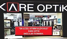 """""""En Güzel Vitrini Seçiyoruz"""" Yarışması: Kare Optik-Bağcılar /İstanbul"""