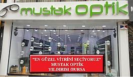 """""""En Güzel Vitrini Seçiyoruz"""" Yarışması: Mustak Optik- Yıldırım/Bursa"""