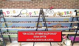 """""""En Güzel Vitrini Seçiyoruz"""" Yarışması: Disa Optik- Adapazarı/Sakarya"""