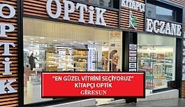 """""""En Güzel Vitrini Seçiyoruz"""" Yarışması: Kitapçı Optik- Giresun"""