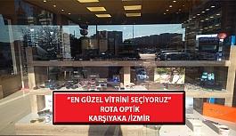 """""""En Güzel Vitrini Seçiyoruz"""" Yarışması: Rota Optik-Karşıyaka/İzmir"""