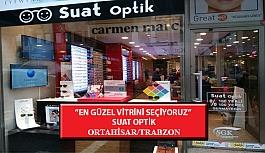 """""""En Güzel Vitrini Seçiyoruz"""" Yarışması: Suat Optik-Ortahisar /Trabzon"""