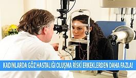 Kadınlarda Göz Hastalığı Oluşma Riski Erkeklerden Daha Fazla!