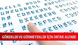 Görenler ve Görme Engelliler İçin Ortak Yazı Biçimi: Braille Neue
