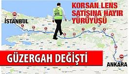 Erol Harbi'nin Yürüyüş Güzergahı...