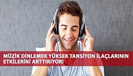 Müzik Dinlemek Yüksek Tansiyon İlaçlarının Etkilerini Arttırıyor!