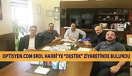 """Optisyen.com """"Korsan Lens Satışına Hayır"""" Yürüyüşü İçin Erol Harbi'ye Destek Ziyaretinde Bulundu"""