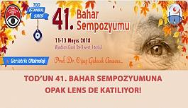 TOD 41. Bahar Sempozyumuna Opak Lens de Katılıyor!