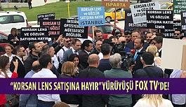 """Erol Harbi'nin """"Korsan Lens Satışına Hayır"""" Yürüyüşü Fox TV'de!"""