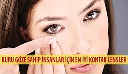 Kuru Gözlere Sahip İnsanlar İçin En İyi Kontak Lensler