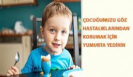 Çocuğunuzu Göz Hastalıklarından Korumak İçin Yumurta Yedirin