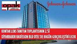 Kontak Lens Tanıtım Toplantısının 2.'si Diyarbakır Radisson Blu Otel'de Bugün Gerçekleştirilecek