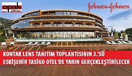 Kontak Lens Tanıtım Toplantısının 3.'sü Yarın Eskişehir Tasigo Otel'de Gerçekleştirilecek