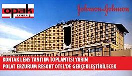 Kontak Lens Tanıtım Toplantısının 5.'si Yarın Polat Erzurum Resort Hotel'de Gerçekleştirilecek