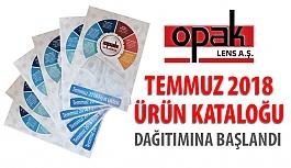 Opak Lens Temmuz 2018 Ürün Kataloğunun Dağıtımına Başlandı!