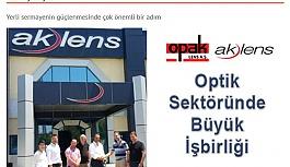 Gözlük Camı Üretiminde Opak Lens ile Ak Lens güçlerini birleştiriyor.