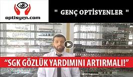 Optisyen.com Ekibi Çektikleri Video İle SGK Gözlük Yardımlarının Artırılmasını İstedi