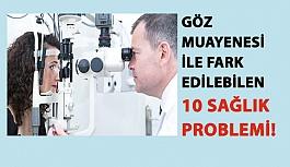 Göz Muayenesi ile Fark Edilebilen 10 Sağlık Problemi!