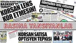 """""""Korsan Lens Satışına Hayır""""  Yürüyüşü Basına Yansıyanlar"""