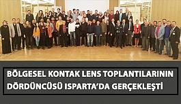 2018 Bölgesel Kontak Lens Toplantılarının Dördüncüsü Dün Isparta'da Gerçekleşti