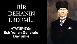 Atatürk, Trikopis'in Elini Sıkar ve Şöyle der...