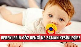 Bebeklerin Göz Rengi Ne Zaman Kesinleşir?