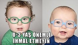 Çocuklarda Göz Muayenesi Doğduğu Andan İtibaren Yapılmalı